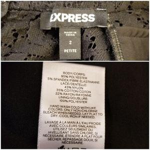 Express Pants & Jumpsuits - Express Pieced Lace Jumpsuit, Size 2P
